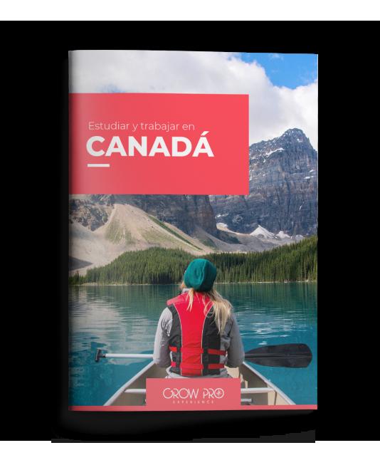 [ES][MOCKUP] Guía Estudiar y Trabajar en Canadá